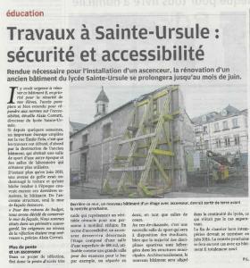 Lycée Sainte Ursule