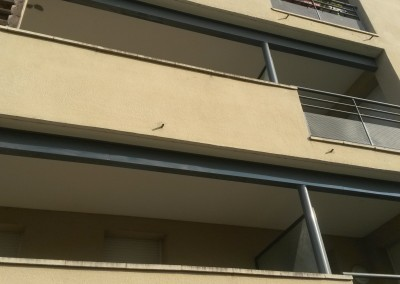 Renforcement des balcons d'une résidence à Blois (41)