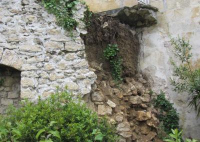 RECONSTRUCTION A L'IDENTIQUE D'UN MUR DE SOUTENEMENT