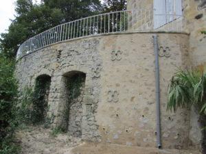 Mur reconstruit par TEMSOL