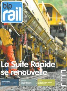 Couverture BTP Rail n°12 magazine ferroviaire