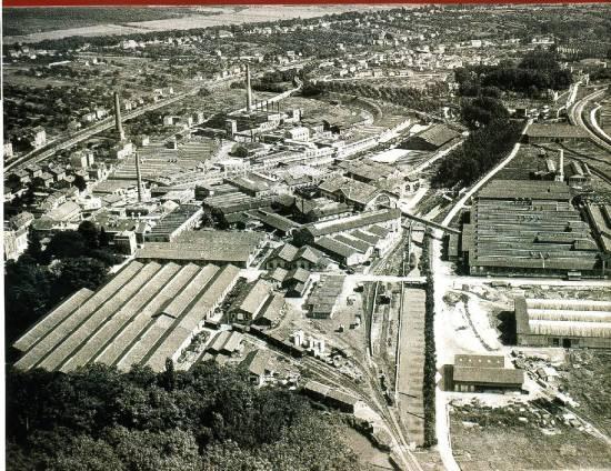 Plan de la papeterie à Corbeil en Essonnes