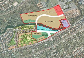 Plan Éco-quartier de la papeterie à Corbeil en Essonnes