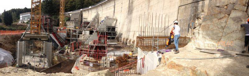 Temsol Travaux d'entretien du barrage du Mervent