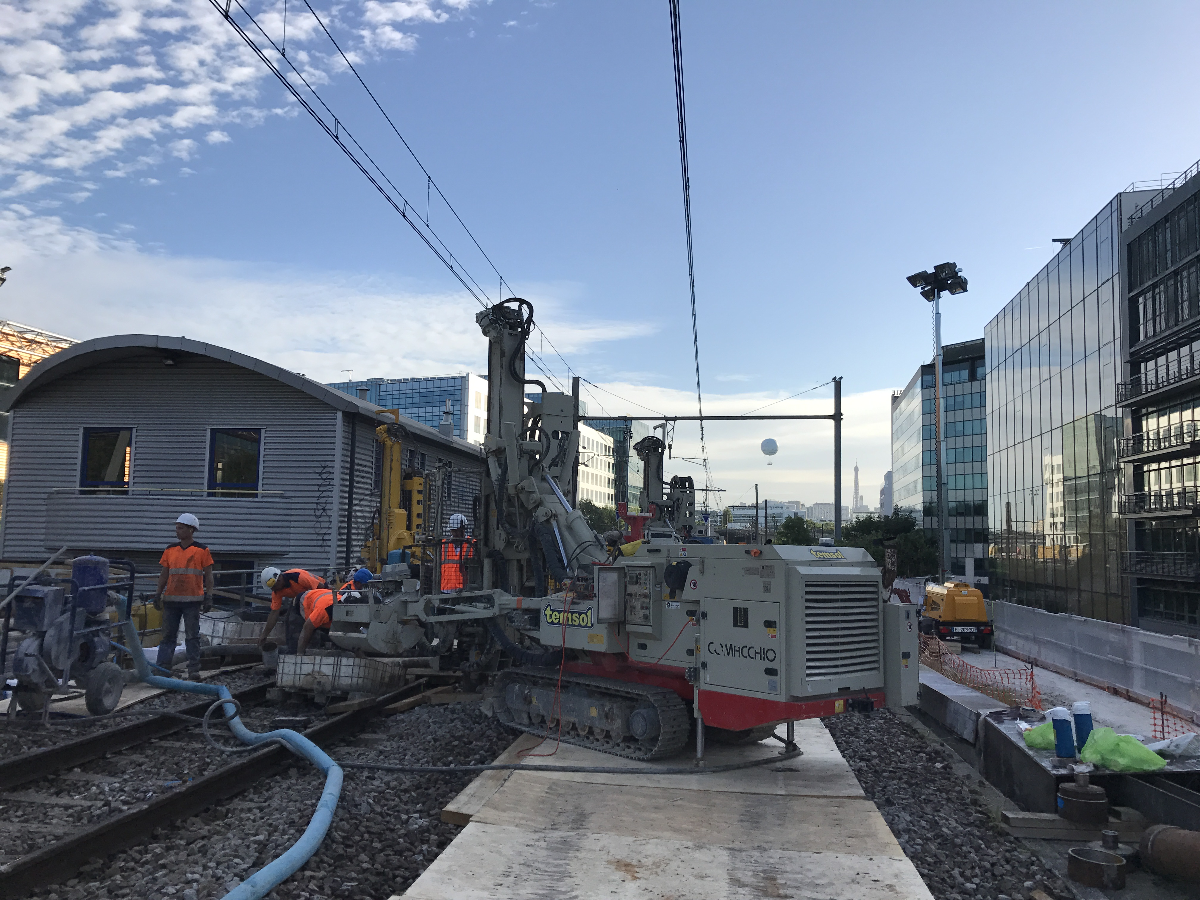 Travaux de Micro-Berlinoise SNCF