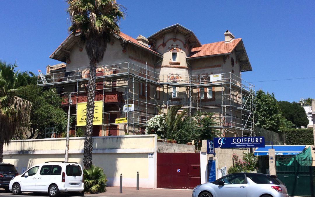 Travaux de rigification d'une bâtisse du 19ème siècle à Marseille (13)