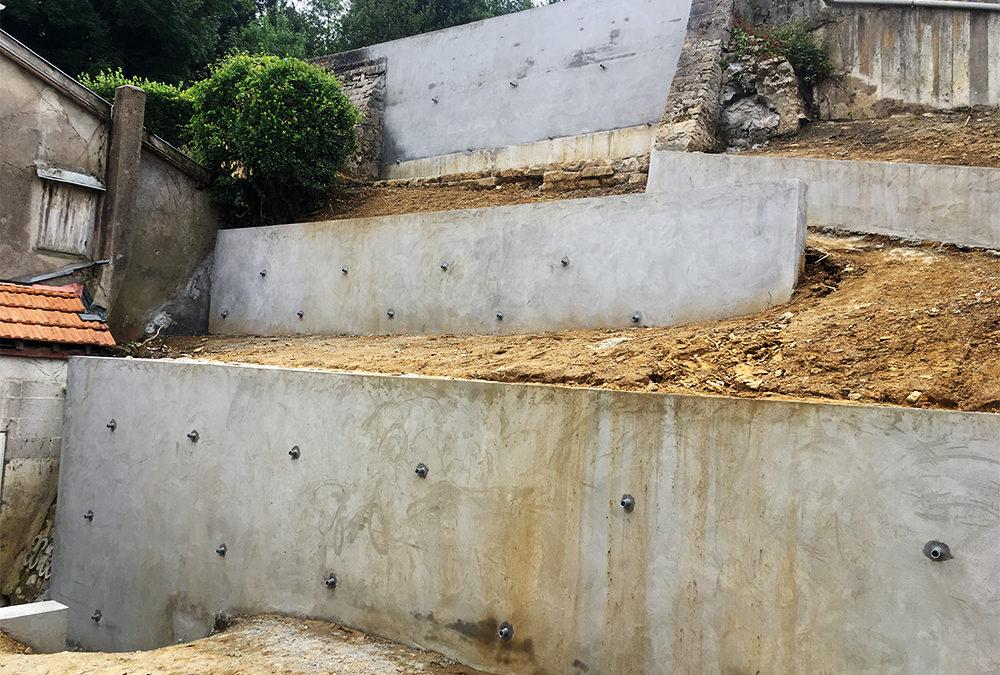 TEMSOL à Bayonne sur un chantier de consolidation