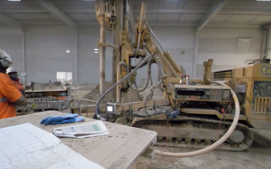 TEMSOL réalise un très beau chantier de micropieux sur la région parisienne.